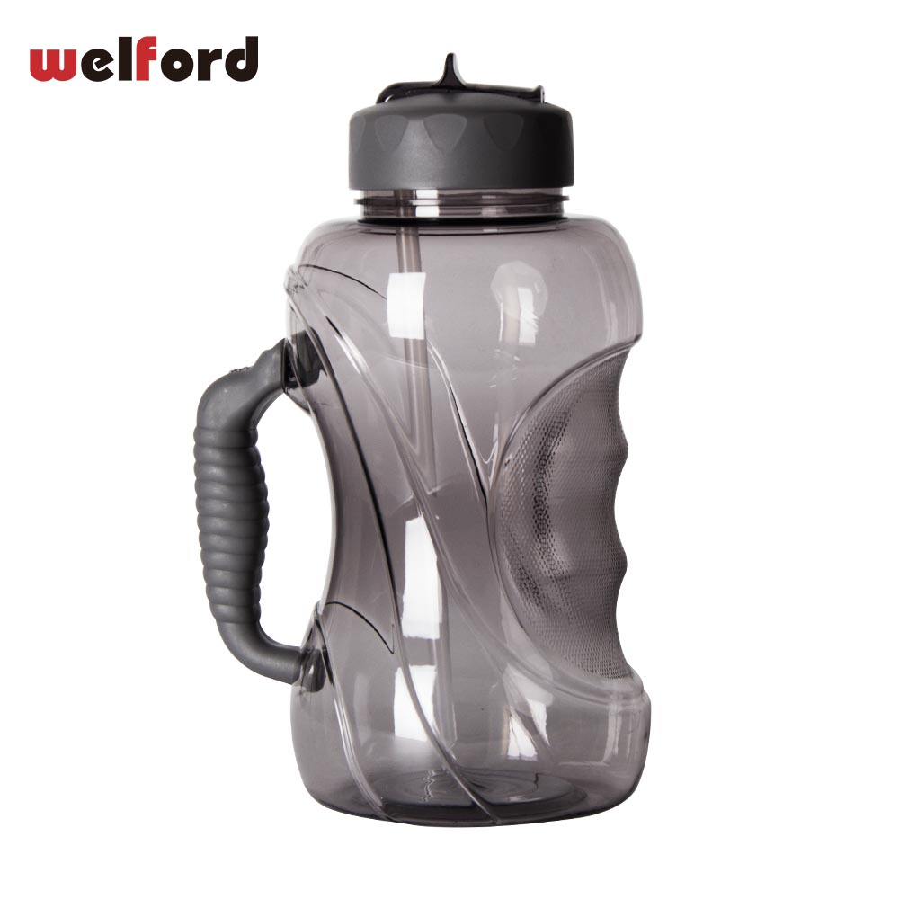 1500ML Large Capacity Water Bottle with Straw and Handle Leak proof ...