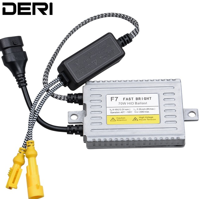 1PC 70W 55W 35W HID Slim Ballast F7 Q5 Fast Bright C5 Error Free CANBUS Ballasts Control H1 H7 H8 H9 H11 9005 9006 H4 Headlight