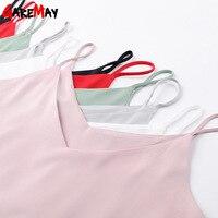 Women Tank Top Camisole Tank Short Summer Loose Tops Halter Top Sleeveless Top Women Elastic Camiseta