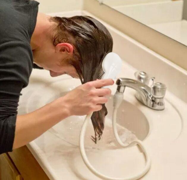 NEW Handheld Shower Head Hair Spa Baby Hose Bath Water Spray ...