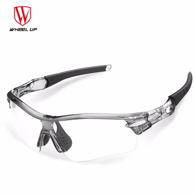 1eb8470127 Wheel Up Photochromic Cycling Glasses Men Women Sports Sunglasses Mountain  Road Bike Bicycle Riding Eyewear Goggles 3 In 1 Lens