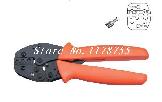 FSC-156B Non-Insulated Tabs Terminals Plier Crimper 1.5,2.5,4-6mm2 AWG 20-10  цены