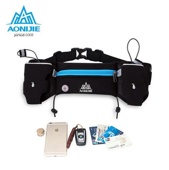 ebd3072c18 AONIJIE Lightweight Waist Bag Men Women Pack Outdoor Sports Cycling Fanny  Pack Travel Running Sport Gym Bag Belt Bag-in Running Bags from Sports ...