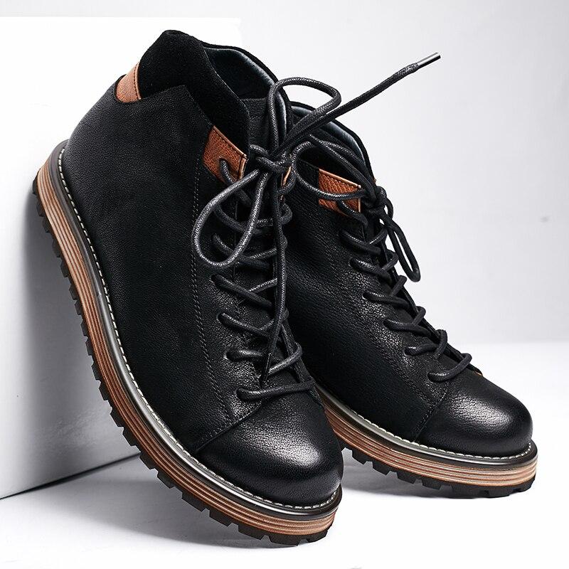 Casual chaussures hommes paresseux chaussures chaussures marée chaussures une pédale mocassins bottes Martin bottes bottes de désert OnHBODTlv