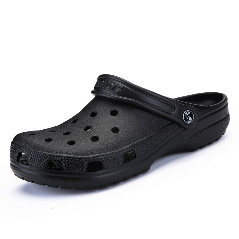 Dropshiping 2019 Men Sandals Summer Slippers Shoes Croc Fashion Beach Sandals Casual Flat Slip on Flip Flops Men Hollow ShoesDropshiping 2019 Men Sandals Summer Slippers Shoes Croc Fashion Beach Sandals Casual Flat Slip on Flip Flops Men Hollow Shoes