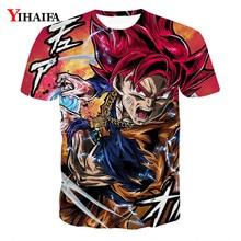 Men 3D Print T shirt Goku Super Saiyan Vegeta Dragon Ball Z Anime Casual Tee Shirts Hip Hop Graphic Tee oversized t shirt все цены
