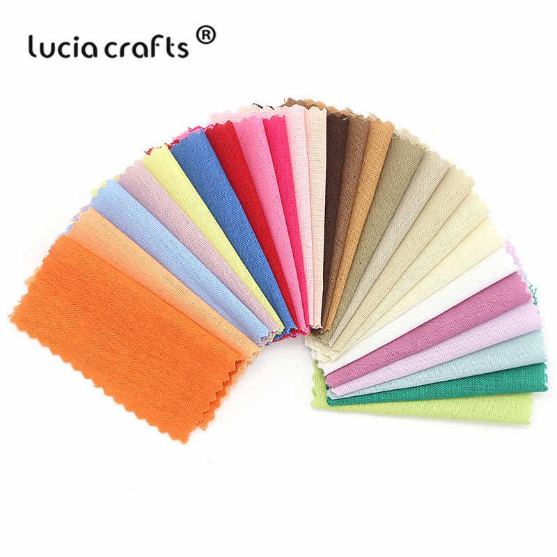 Продажа Lucia Crafts 50 шт 10*10 см случайная смешанная ткань Лоскутная Ткань Сделай Сам стеганая швейная ткань для скрапбукинга H0911