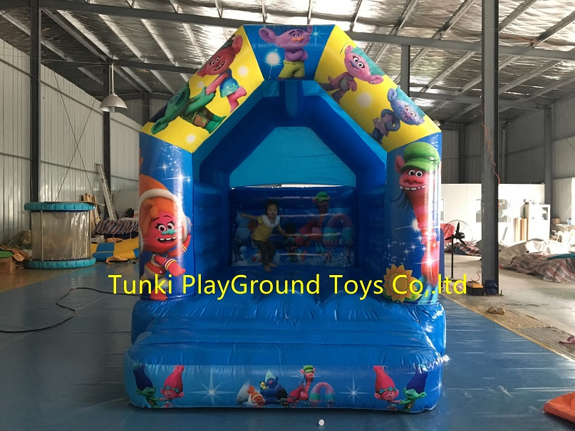 kids castle jumping playing castle inflatable font b bouncer b font inflatable combo inflatable toy