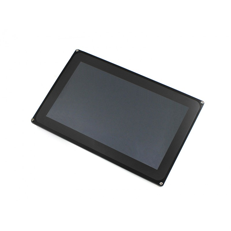 10.1inch Capacitive Touch LCD (D) 1024*600 TFT 5 multi-touch Touch screen stand-alone Multicolor Graphic LCD 19 inch infrared multi touch screen overlay kit 2 points 19 ir touch frame