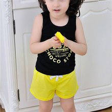 2018 Summer Casual Sports Unisex Children Solid Short Cotton Shorts Boys And Girl Clothes Baby Fashion Pants Dropshipping 0227