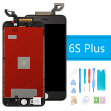Luxury Suit for iPhone 6S Plus Display Screen LCD Replacement 3D Force Touch Screen Digitizer Assembly for iPhone 6S Plus + Tool data sync cradle docking charger for garmin forerunner220 g25