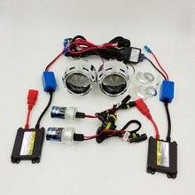 2.5 pulgadas HID Bi-xenon Lente Del Proyector LHD/RHD Kit Completo, de coches de Estilo Motocicleta Retrofit H1 H4 H7 4300 K 5000K…