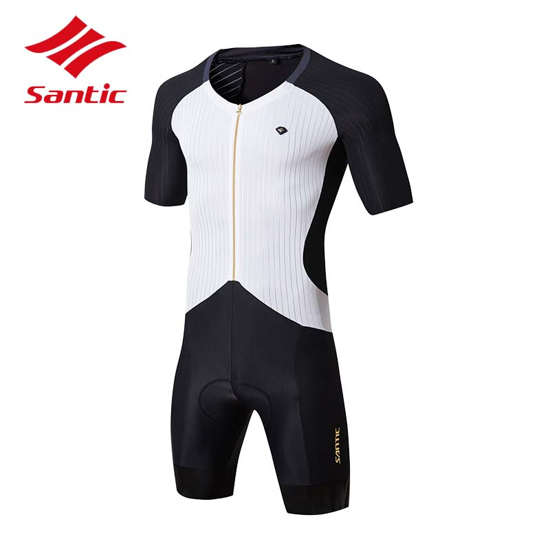 Santic Cycling Jersey Men One Piece Cycling Clothing Racing MTB Road Bike Bicycle Clothes Pro Racing Skinsuit Ropa Ciclismo 2018 veobike 2018 pro team summer big cycling set mtb bike clothing racing bicycle clothes maillot ropa ciclismo cycling jersey sets