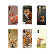 FOX Accessories Phone Cases Covers For Samsung Galaxy S3 S4 S5 Mini S6 S7 Edge S8 S9 S10 Lite Plus Note 4 5 8 9(China)