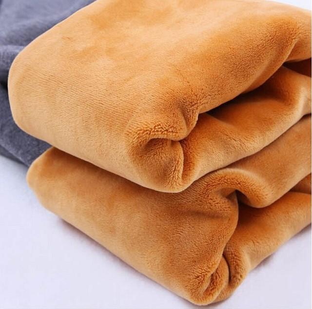 Inverno Leggings de Veludo Maternidade Calças Roupas Para Mulheres Grávidas Espessamento Quente Malha Cintura Alta Suspender Calças da Gravidez
