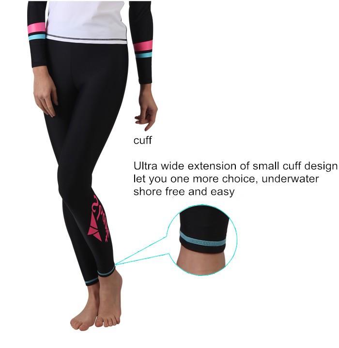 cd128105f Sbart Women Long Snorkeling Swimming Pants Yoga Fitness Women's Rash ...