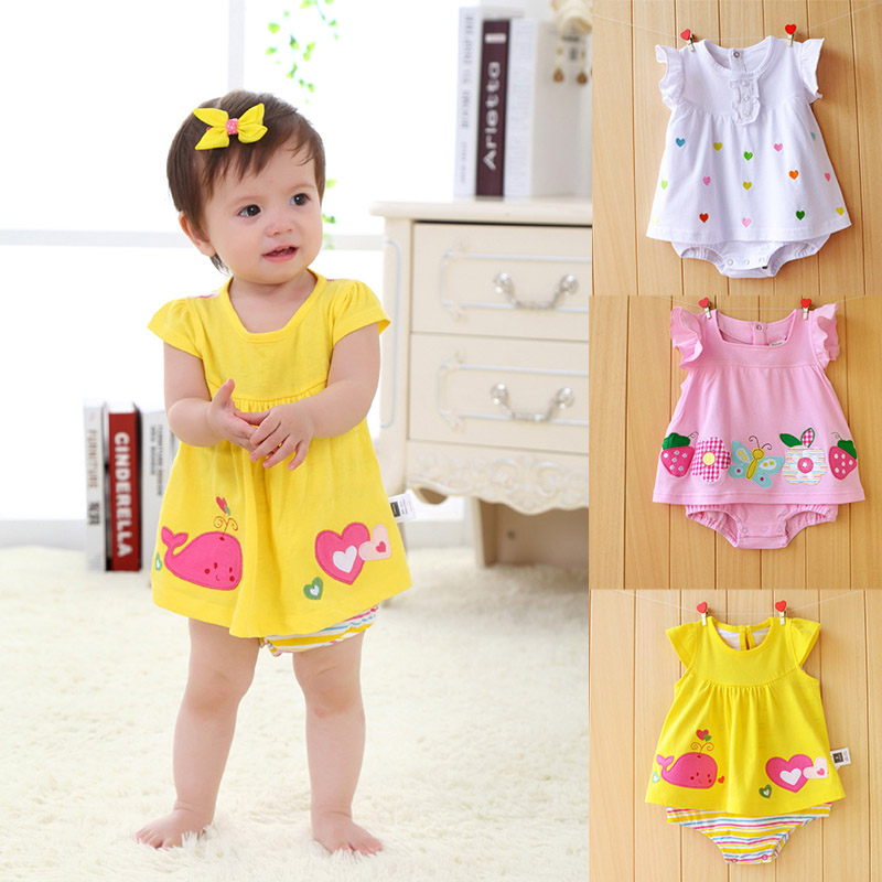 New Born Baby Girl Clothes 2018 Baby Girls Clothing Floral Print Baby Rompers Kids Costume Infant Jumpsuit Newborn Girls Romper new born baby girl clothes leopard 3pcs suit rompers tutu skirt dress headband hat fashion kids infant clothing sets