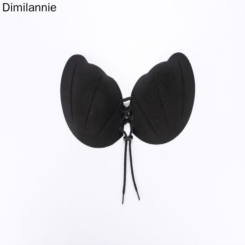 New Type of Manufacturers Wholesale European and Shellfish Rope Invisible Bra Sticking Shoulder Strapless Bra in Bras from Underwear Sleepwears