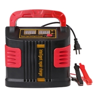 350W 14A AUTO Plus Adjust LCD Battery Charger 12V 24V Car Jump Starter Portable