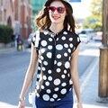 Veri Gude Summer Style Chiffon Blouse Women Blouses Polka Dot Summer Tops