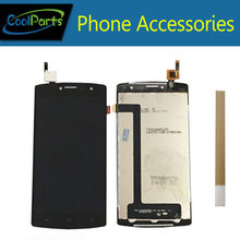 1PC/Lot For Archos 50B Platinum LCD Display Screen And Touch Screen Digitizer Assembly Replacement Part Black Color With Tape(China)