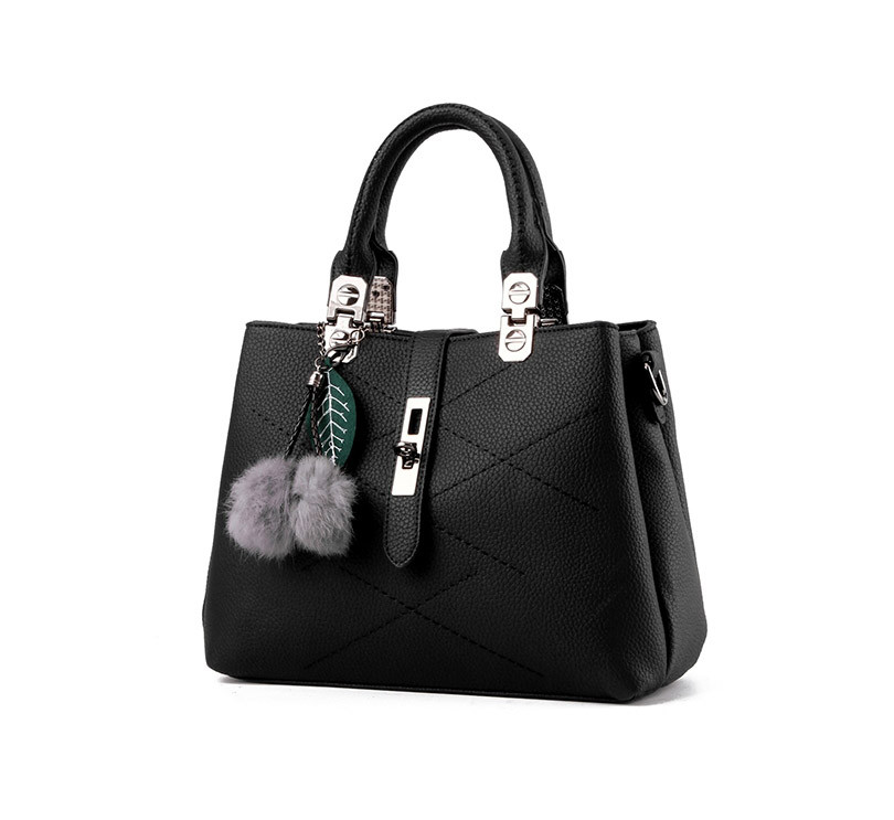 DIZHIGE Brand Fashion Fur Women Bag Handbags Women Famous Designer Women Leather Handbags Luxury Ladies Hand Bags Shoulder Sac 9