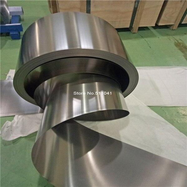 titanium foil 0.15mm thickness 427mm width ,10kg wholesale price 99 99% purity mirror titanium foil ti titanium metal strip 0 03mm thickness 130mm width 4000mm l