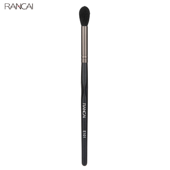 цена на RANCAI Eye Contour Makeup Brush Soft Natural Hair Eye shadow Blending Goat Hair Brush Flame Shape Makeup Blender Tool Nose Brush