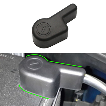 Accessories for Nissan Navara Frontier NP300 Xterra Titan NV200 Evalia Battery Negative Electrode Protector Terminal Covers image