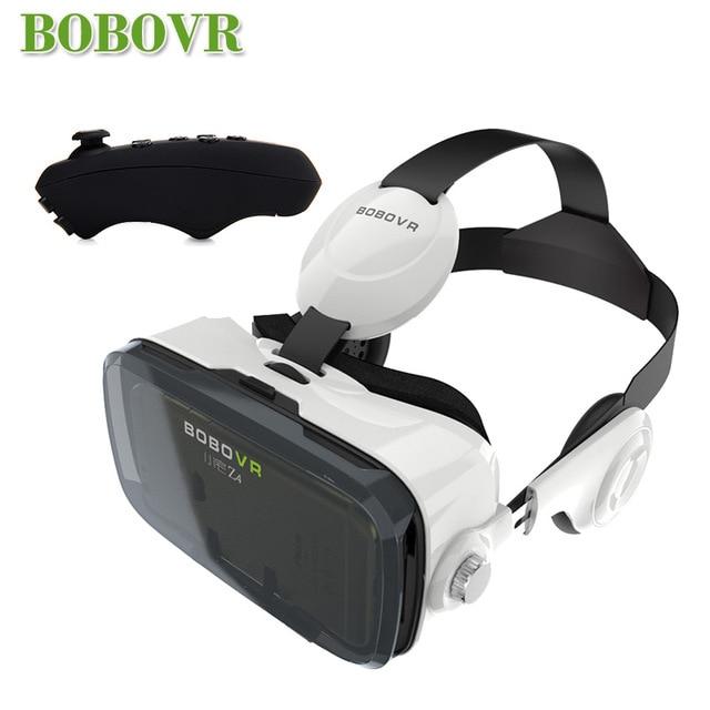 XiaoZhai bobovr z4 VR Виртуальная реальность 3D очки VR гарнитура VR шлем cardboad bobo коробка и Bluetooth контроллер - Цвет: VR with BC