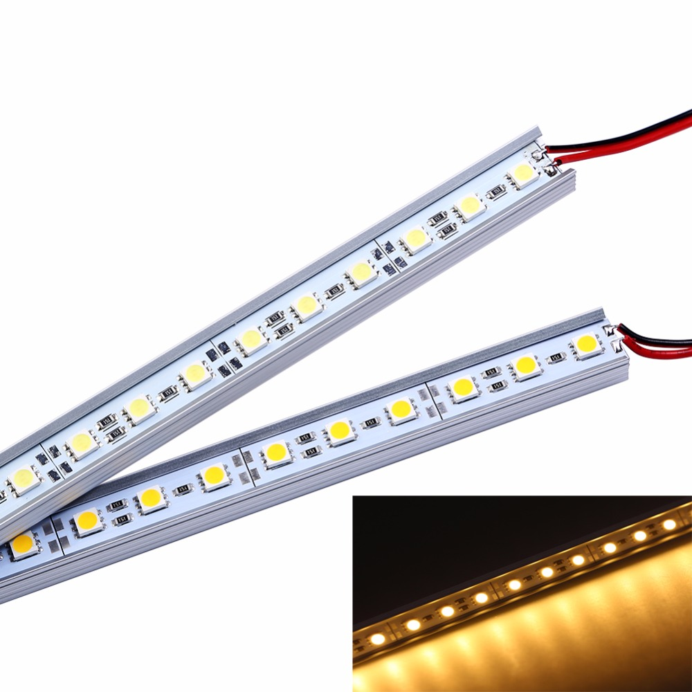 5 unids 5050 LED Bar Light Nonwaterproof 5050 SMD 36LED 50 CM LED - Iluminación LED