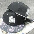 Baseball Cap Praying hands Hat Hip Hop Snapback Cap Flat Brimmed Hats for Men/Women Casual Outdoors Gorras Fashion Accessories