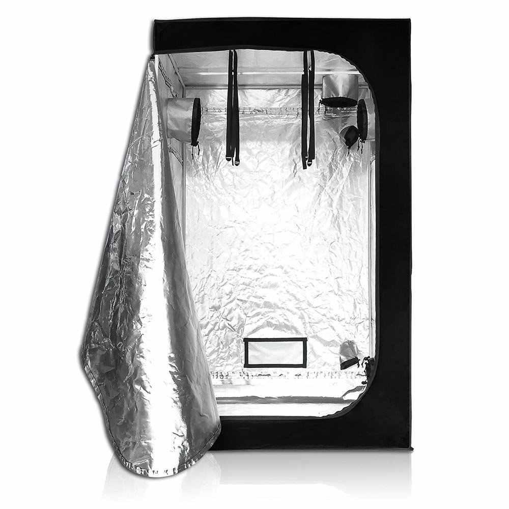 40/50/60/80/100/120cm Indoor La Coltura Idroponica Crescere Tenda, grow Room Box Led Coltiva La Pianta Luce, Riflettente Mylar Giardino Serre