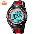 Watch Women Brand 2017 HOSKA Swimming Waterproof LED Display ABS Plastic Wrist Band Digital-Watch montre femme de marque H010