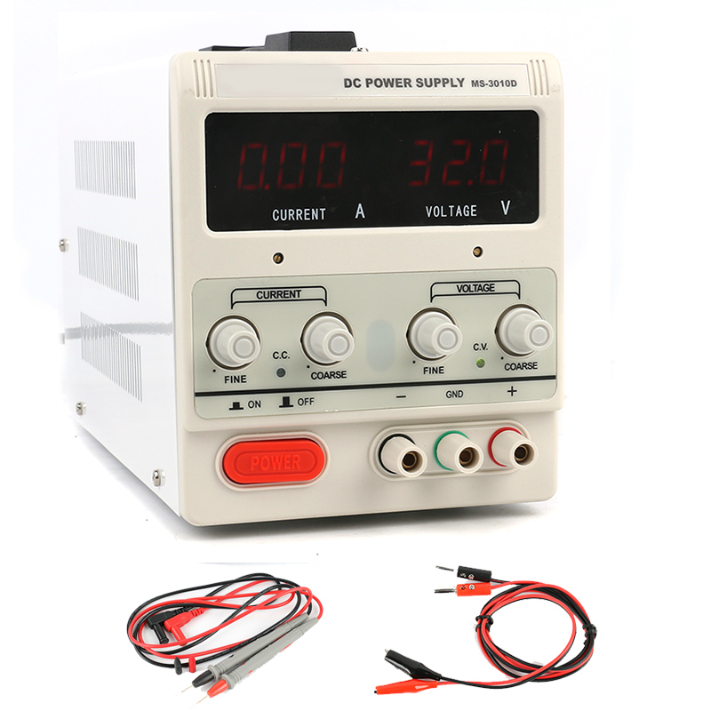 3010D Laboratory Lab Digital Adjustable Switching DC Power Supply 30V 10A 5A 120V 3A 60V 5A 0.1V 0.01A 110V - 220V for repair3010D Laboratory Lab Digital Adjustable Switching DC Power Supply 30V 10A 5A 120V 3A 60V 5A 0.1V 0.01A 110V - 220V for repair