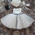 Новый Малышей Крещение Dress Рождественские Костюмы Одежда Мода Ленты Новорожденных Девочек Платья Принцесс Для Ребенка 1 Год Подарок На День Рождения