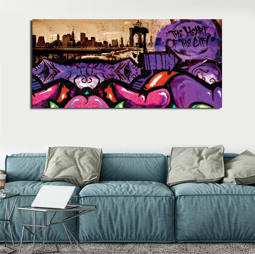 Aliexpress.com : Buy Abstract Ocean Waves Seascape Canvas