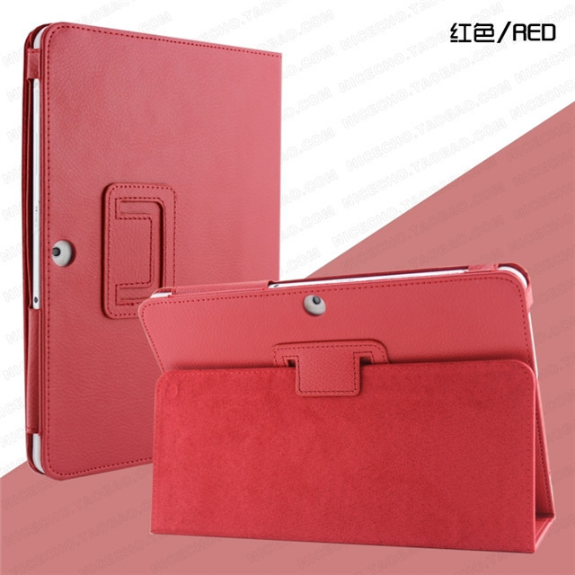 High Quality Litchi PU Leather Smart Case Cover Skin Stand For Samsung Galaxy Tab 2 10