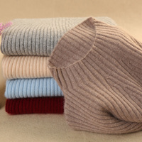 JECH Spring Cashmere Wool Sweater Turtleneck Fashion Sexy Solid Slim Oversized Pullovers More Color Big Jumpers Top Grade