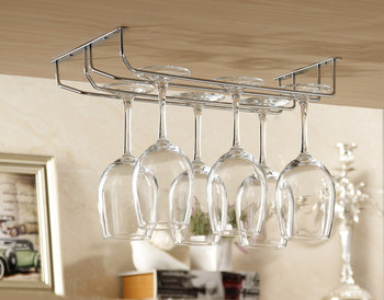 Red wine holders metal cup holder wine glass hanging cup rack wine cup rack