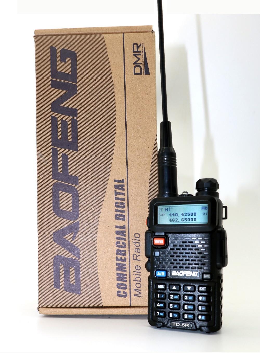 Baofeng Dual Slot di Tempo TD-5R Portatile Radio Dual Band tier2 & tier1 DMR Walkie Taklie Digital Anolog dual mode DM-5R serie Radio