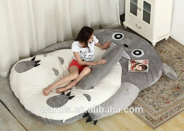 2 3mx1 9m Tatami Futon Totoro Stuffed Portable Double Sleeping Toy Bed Leisure Siting Floor