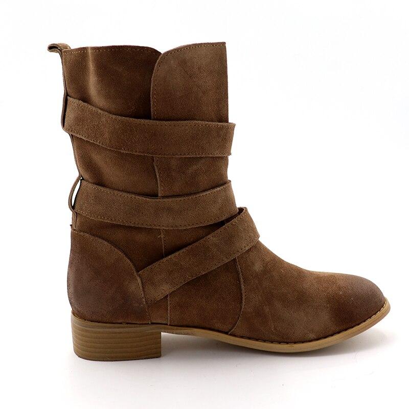 D'hiver Pour brown mollet Cowboy Tan Femmes 43 33 Court Lumière Black Chaussures Enmayer Taille Grande Bottes Femme Noir Western Cr673 Mi qp5RxnIw7