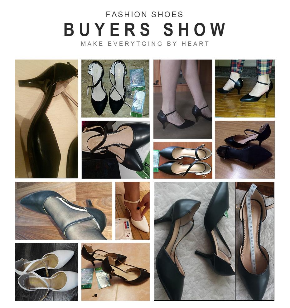 Yalnn Kulit Wanita Sandal Sumer 2018 Sepatu Tinggi Tumit Pergelangan Kaki  Tali Tumit Pesta Sandal Sarung Tumit Sepatu Ukuran Besar 34-43 f9afa6a0d8