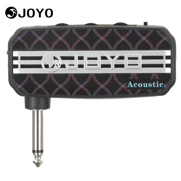 Joyo Ja-03 Acoustic Sound Portable Mini Guitar Amplifier Plug Amp Electric Guitar Parts Accessories with 3.5mm Earphone Output joyo ja 03 mini guitar amplifier with metal sound effect