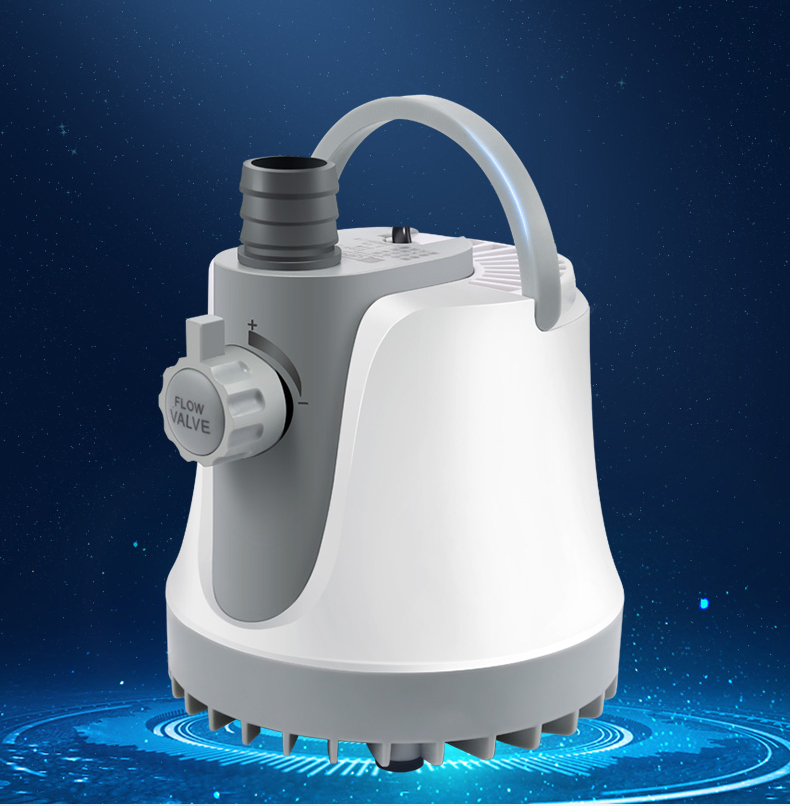 220v 25w//35w//60w Water Pump 1800L//H Submersible Water Pump 2500L//H//3000L//H Silent Submersible Pump Water Fountain with 2 Outlets for Aquarium Fish Tank Pond Fountain Hydroponics