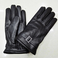 Genuine Leather Gloves For Men's Winter Gloves Leather Glove Trendy  Winter New 2016 Thicken Male Real Leather Gloves Sheepskin