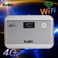 Разблокирована 3 Г 4 Г Wi-Fi Маршрутизатор LTE WCDMA GSM 5200 мАч Power Bank Карманный беспроводной Маршрутизатор Точка Мобильный Wi-Fi со Слотом Для Sim-карты и RJ45