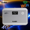 Unlocked 3G 4G WiFi Router LTE WCDMA GSM 5200mAH Power Bank Wireless Pocket Router Mobile WiFi Hotspot with SIM Card Slot &RJ45