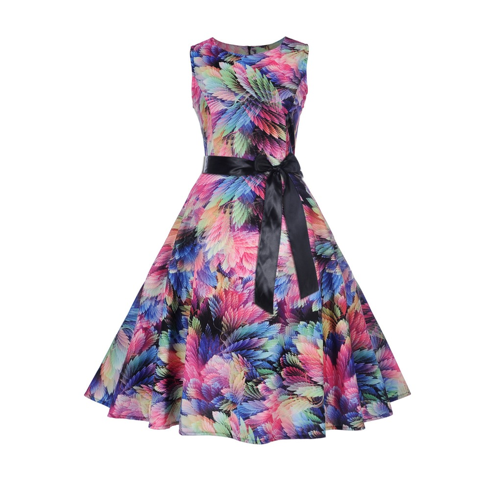 2018 Kids Girl Floral print dress Summer Girls Dress Teenage Girl Party Dress Princess Dresses Children Clothing For 11-20 Years стоимость